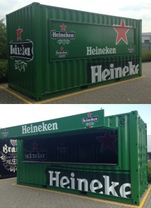 Heineken Event Container
